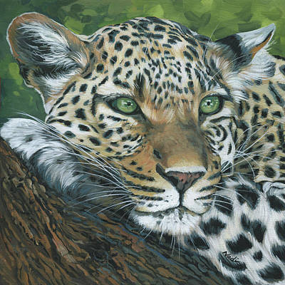 Painting - Leopard by Nadi Spencer