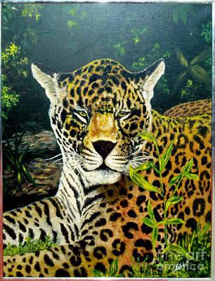 Leopard Art Print by Peter Kulik
