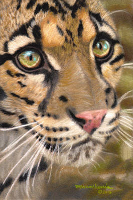 Painting - Leopard Princess by Melissa Herrin