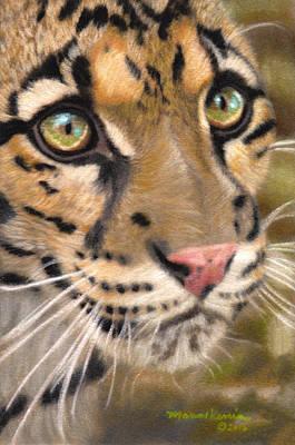 Painting - Leopard Princess by Melissa Herrin