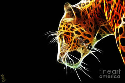 Leopard Art Print by The DigArtisT