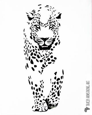 Painting - Leopard by Tracey Armstrong