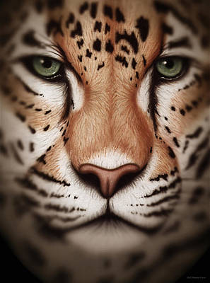 Painting - Leopard by WB Johnston