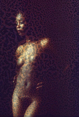 Photograph - Leopard Woman by Stuart Brown