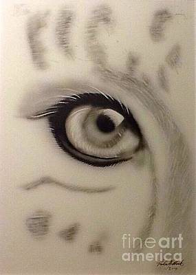 Leopard's Eye Art Print