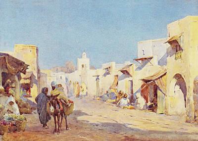 Photograph - Leopold Carl Muller 1887 by Munir Alawi