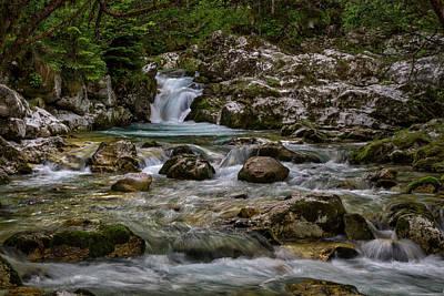 Photograph - Lepenjica River - Slovenia by Stuart Litoff