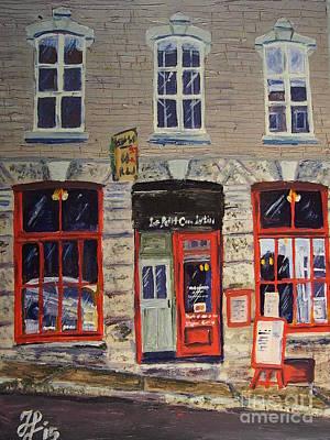 Painting - Lepetitcoinlatin by Francois Lamothe