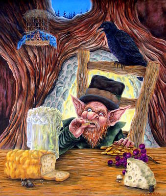 Leprechaun's Lair Original by Heather Calderon