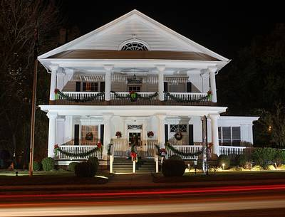 Photograph - Leroy Springs House At Christmas 1 by Joseph C Hinson Photography