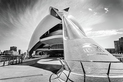 Photograph - Les Arts, Valencia, Spain. by Gary Gillette