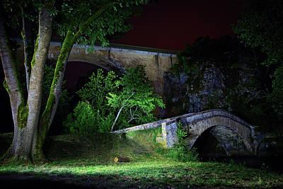Photograph - Les Deux Ponts by Dirk Ercken