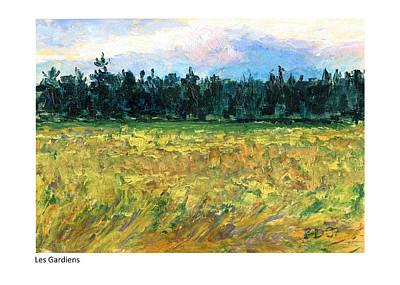 Painting - Les Gardiens by Betsy Derrick