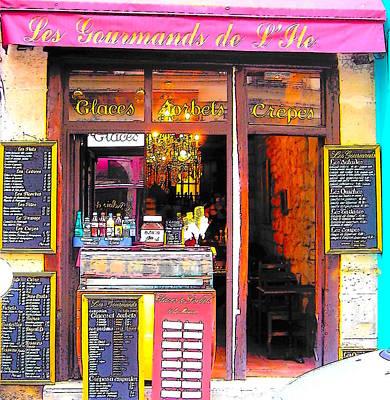 Photograph - Les Gourmands De L'ile by Jan Matson