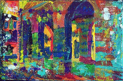 Les Halles De Serignan Art Print by Kris Woo