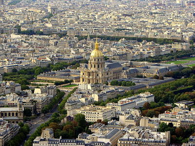 Photograph - Les Invalides Du Paris by T Guy Spencer