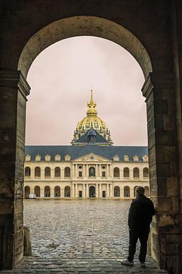 Invalides Photograph - Les Invalides Paris by Joan Carroll