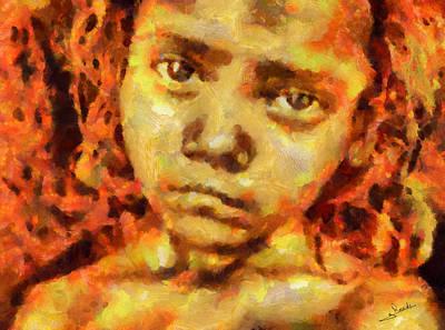 Sahara Painting - Les Miserables by George Rossidis