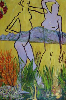 Les Nymphs D'aureille Art Print