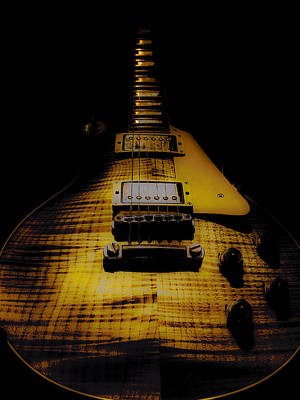 Digital Art - 1958 Reissue Guitar Spotlight Series by Guitar Wacky