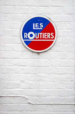 Photograph - Les Routiers by Jez C Self