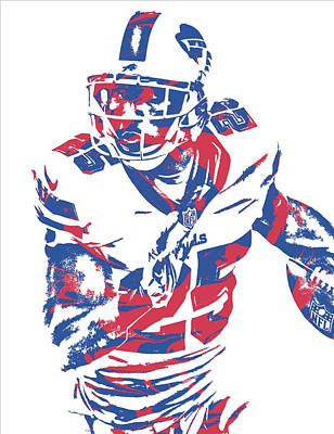 Lesean Mccoy Buffalo Bills Pixel Art 13 Art Print