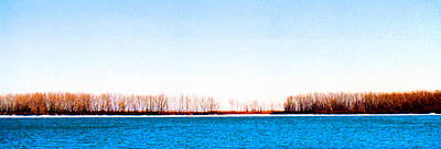 Art Print featuring the photograph Leslie Spit From Cherry Beach 33 Dbae by Lyle Crump