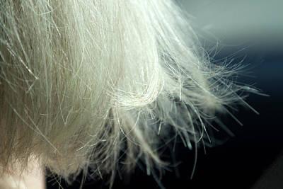 Leslie's Hair Art Print by Terry Davis