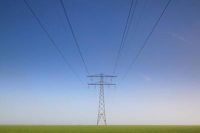 Electricity Photograph - Less Is More by Anna Zuidema