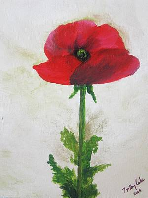 Lest We Forget Art Print by Trilby Cole