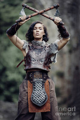 Warrior Women Photograph - Let Battle Commence by Amanda Elwell