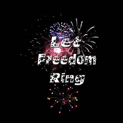 Photograph - Let Freedom Ring by Judy Hall-Folde