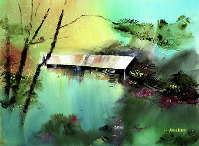 Painting - Let It Be by Anil Nene
