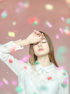 Photograph - Let It Be.  Unexpected Happiness by Inna Mosina