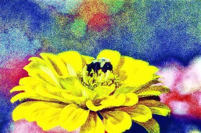 Bumble Digital Art - Let It Bee by Bill Cannon