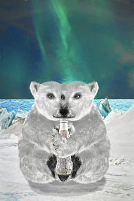 Digital Art - Go With The Floe by John Haldane