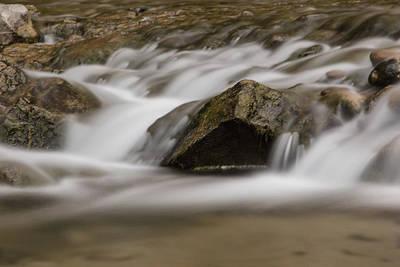 Photograph - Let It Flow Zion Nation Park  by John McGraw