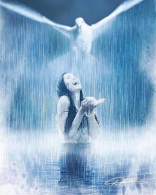 Soap Suds - Let It Rain by Danny Hahlbohm