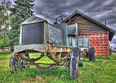 Photograph - Tractor On Down The Road by Thom Zehrfeld