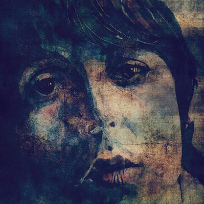 Beatles Digital Art - Let It Roll / 2 by Paul Lovering