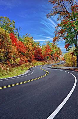 Autumn Photograph - Let It Roll - Pennsylvania by Steve Harrington