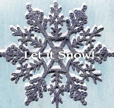 Photograph - Let It Snow 2 by Ellen Barron O'Reilly