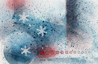 Let It Snow Art Print by Monte Toon