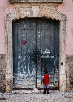 Castle Gate Photograph - Let Me In by Marco Oliveira