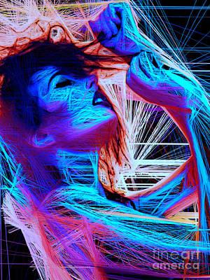 Digital Art - Let Me In Your Dreams by Rafael Salazar