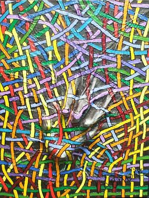 Painting - Let Me Out Of Myself by LaBadie
