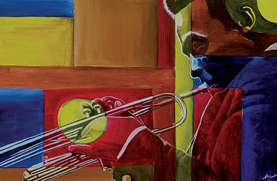 African American Art Painting - Let Me Play by Stacy V McClain