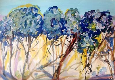 Painting - Let Me Wander In Nature  by Judith Desrosiers