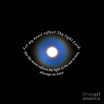 Photograph - Let My Heart Reflect Thy Light 1 by Agnieszka Ledwon