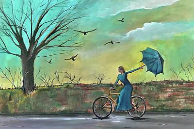 Painting - Let Something Go by Nancy Hilliard Joyce